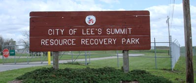 Resource REcovery Park Lee's Summit Missouri