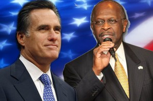 Romney, Cain Strong Showing at Republican Debate