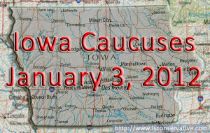 Primary Season Starts January 3rd in Iowa.