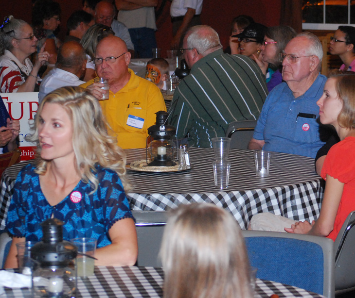 Picture of Turk Supporters at Faulkner's Ranch
