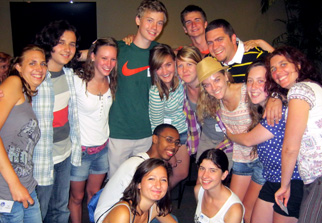 Picture of International Students And American Counterparts