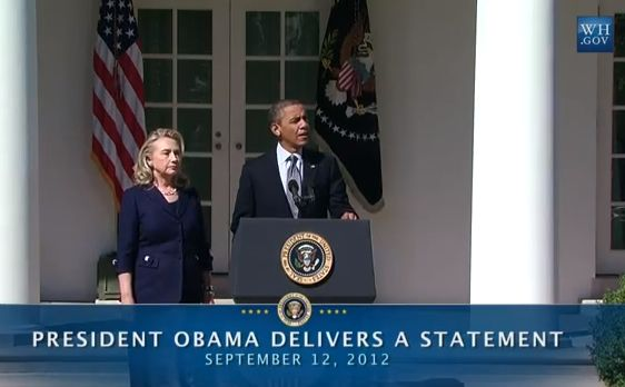 President Obama speaks on the Deaths of U.S. Embassy Staff in Libya