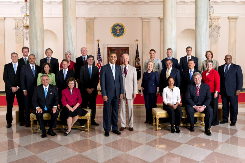 Small picture of Obama Cabinet 2012 07 30