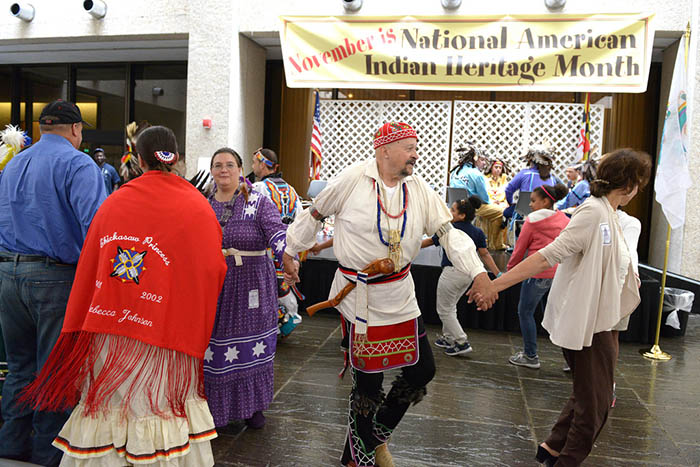 November is National American Indian Hertitage Month