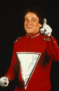Picture of Robin Williams as Mork