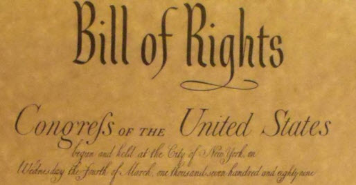 Picture of the Header for Bill of Rights of the United States of America