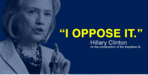 Would you believe: Hillary lost the Teamsters over Keystone XL