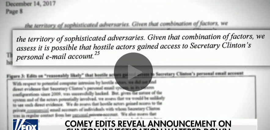 Did FBI and DOJ Plot to Clear Hillary and Bring Down Trump?