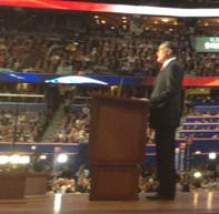Romney 2012 RNC speech picture